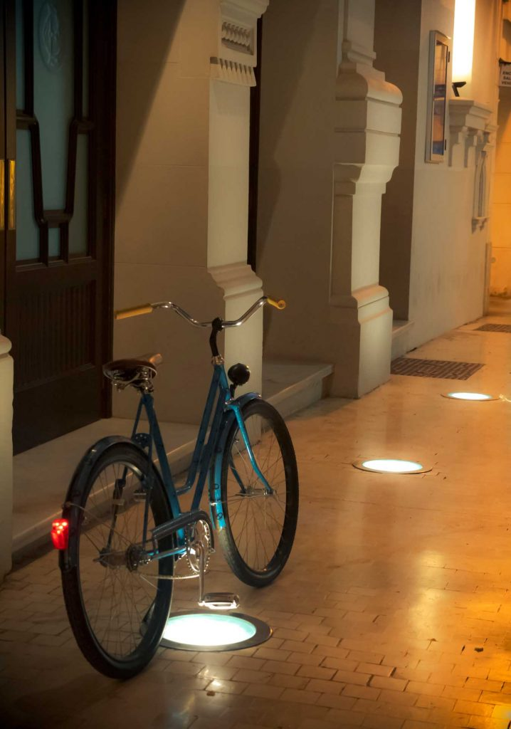 bicicleta holandesa turquesa