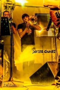 Javier Gámez trombón