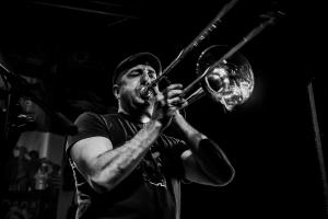 trombon y músico