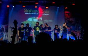 grupo en escenario Sótano Sur