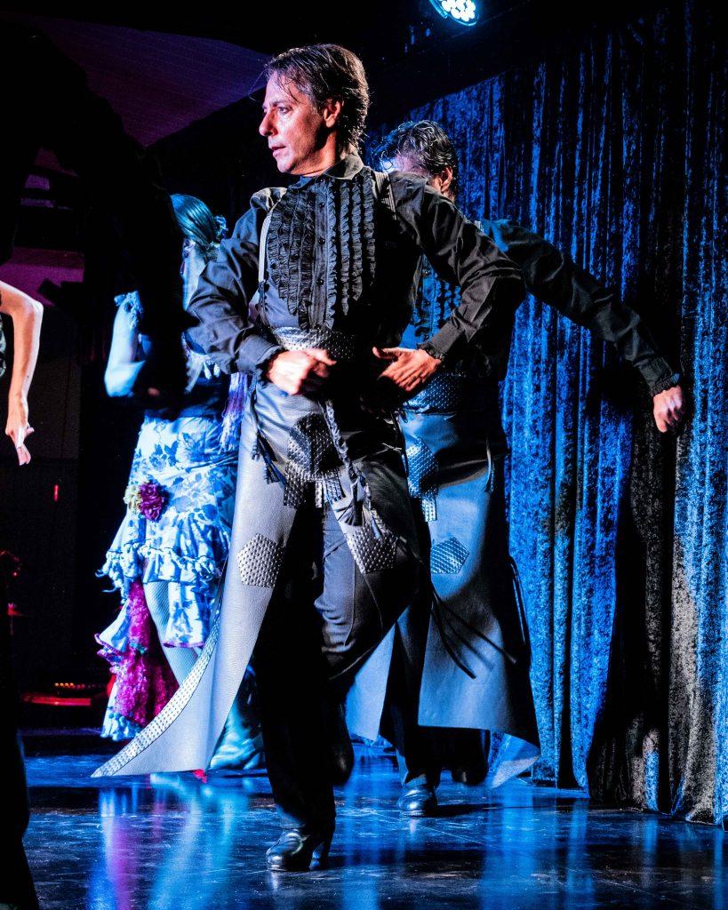 bailador flamenco Vicente Renero