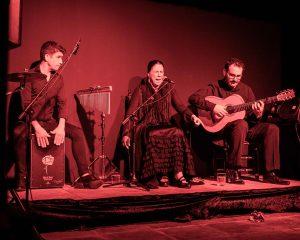 cuadro cante flamenco